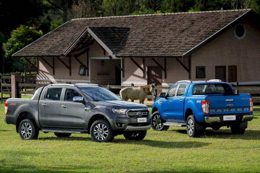 Para ganhar competitividade, linha 2020 da Ford Ranger incorpora tecnologias e mantém os preços