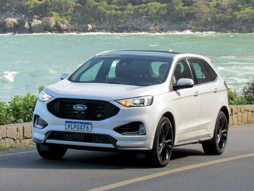 Edge ST ostenta a capacidade da Ford de produzir veículos de padrão premium e é comercializado no Brasil por R$299 mil