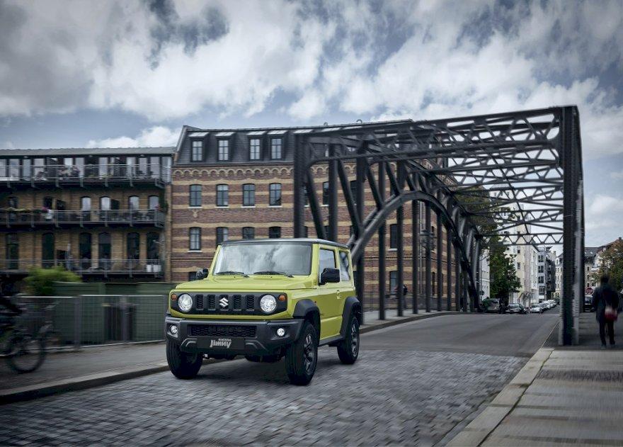 Novo Suzuki Jimny Sierra já tem data de estreia no Brasil
