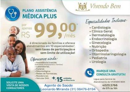 ASSISTÊNCIA SAÚDE PLUS - VIVENDO BEM BRASIL