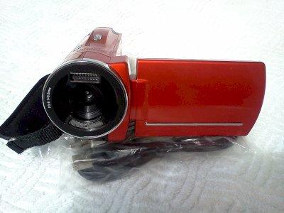 Filmadora Cam Modelo Spca 1528 Nova Na Caixa Com Acessórios