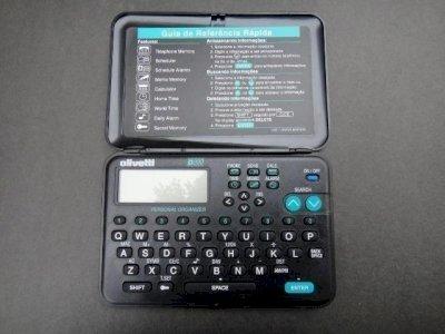 Agenda Eletrônica Olivetti - D200 Excelente Estado! Funcionando perfeitamente! Semi-nova!