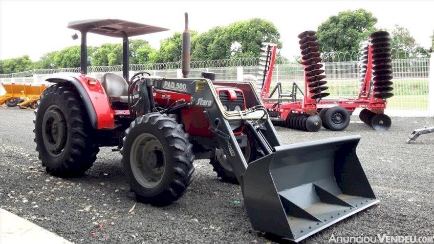 Trator Massey Ferguson 275 4x4 ano 2005 com Conjunto 14.99815.4830