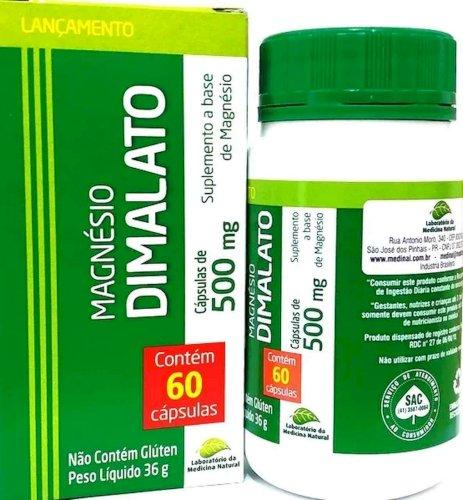 Coenzima Q10 Co Ubiquinona 120 Capsulas + Magnésio Dimalato