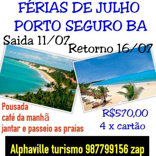 FÉRIAS DE JULHO PORTO SEGURO BAHIA