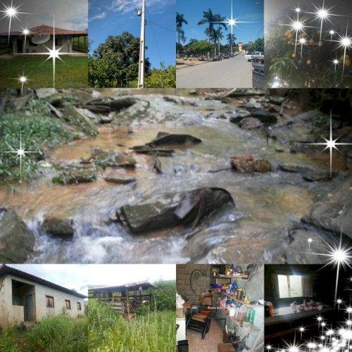 Troco Fazenda Casa colonial 3 quartos água CEMIG RÓTULO JABOTICATUBAS MG