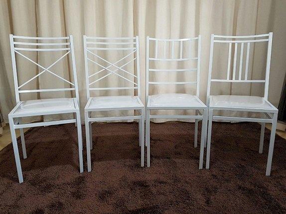 Cadeiras Buffet Empilhaveis - Direto da Fabrica