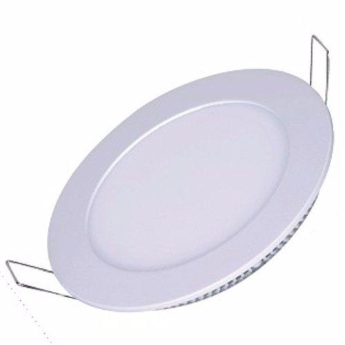 Kit 10 Painel Plafon Luminaria Led 24w Redondo Embutir