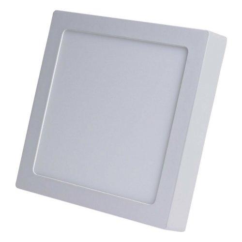 Painel Plafon Led Sobrepor Quadrado 24w Luz Branca