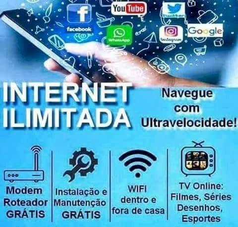 INTERNET COM MAIOR VELOCIDADE INSTALAÇÃO GRATÍS