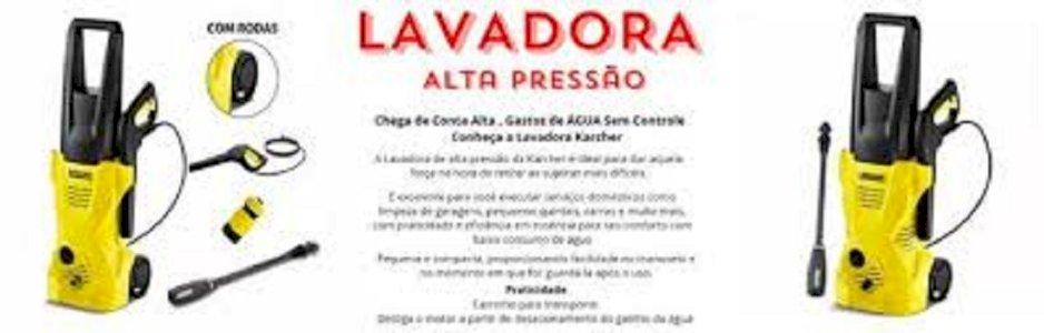 Lavadora De Alta Pressão Kärcher Com Rodinha 1600 Lbs 110v ou 220v