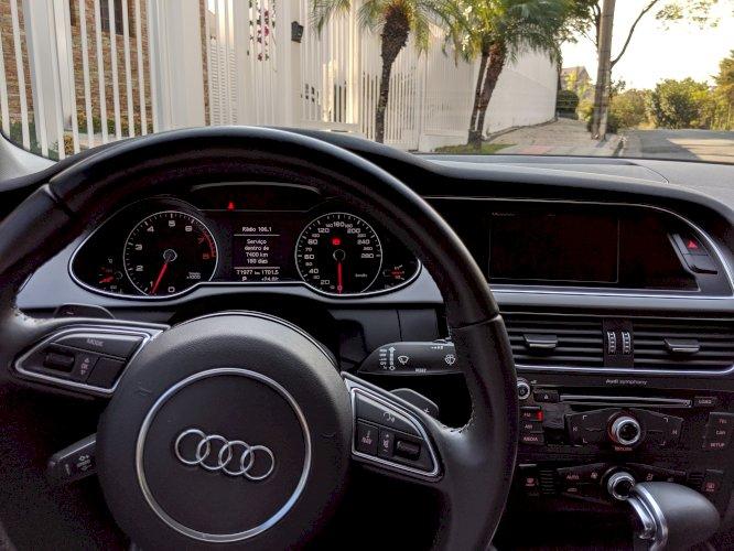 Audi A4 turbo 2.0 TFSI Ano 2012/2013 Completo Pneus Novos