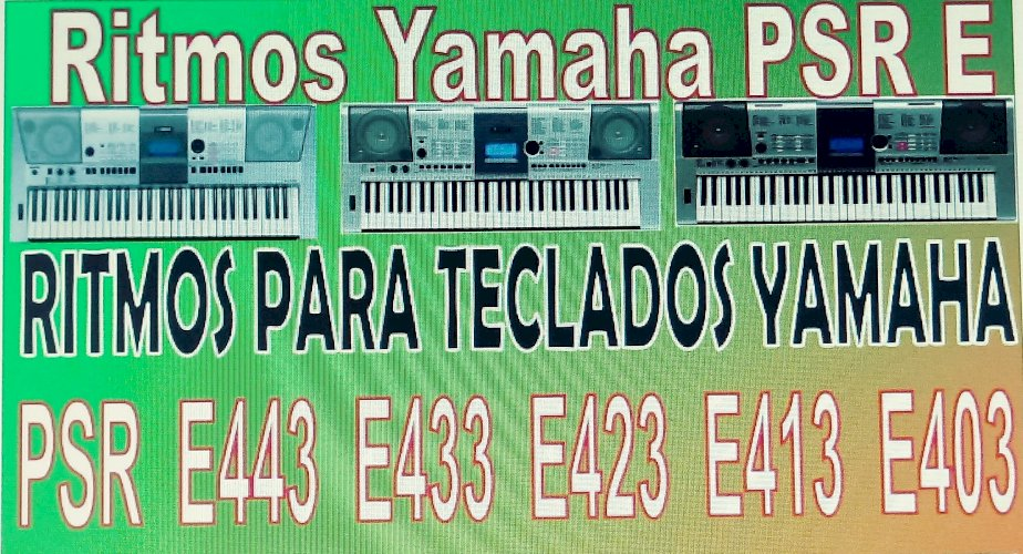 Ritmos & samples para teclados Yamaha Korg Roland