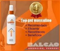 Libid Gel Original - O melhor gel para aumento peniano, completamente natural que é muito eficaz para ejaculação precoce Formula exclusiva no Brasil