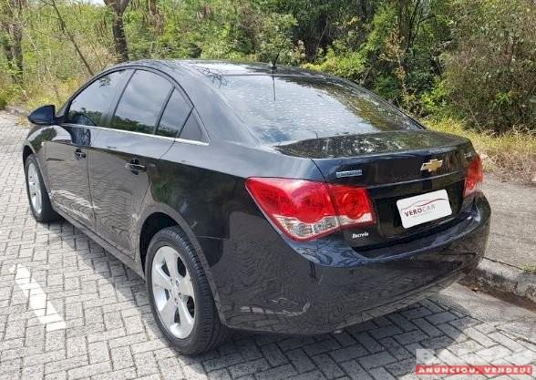 CHEVROLET CRUZE LT 1.8 SEDAN ANO 2012 AUTOMÁTICO COMPLETO