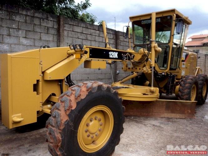 Motoniveladora - Caterpillar 120k/11 Caterpillar 12H/99