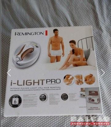 Aparelho de depilação luz pulsada i-light Pro Remington usado 3 vezes